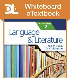 Language and Literature for the IB MYP 2 Whiteboard eTextbook