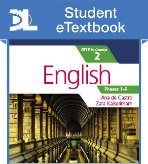 English for the IB MYP 2 Student eTextbook (1 Year Subscription)