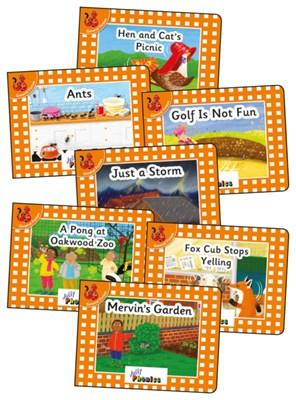 Jolly Phonics Orange Readers - Complete Set (21 titles) - фото 11694