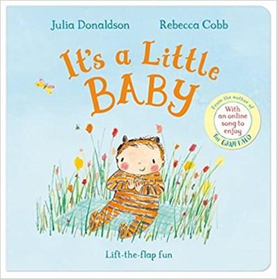 It's a Little Baby (board book) - фото 4484