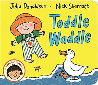 Toddle Waddle  (board book) - фото 4485