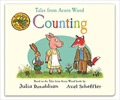 Tales from Acorn Wood: Counting (board book) - фото 4553
