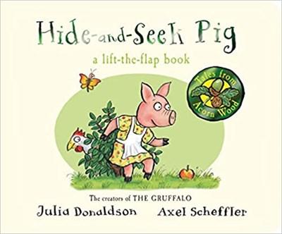 Tales from Acorn Wood: Hide-and-Seek Pig (board bk) - фото 4554