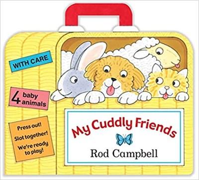 My Cuddly Friends  (board bk) - фото 4556