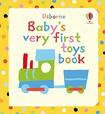 Baby's Very First Toys Book  (board bk) - фото 4612