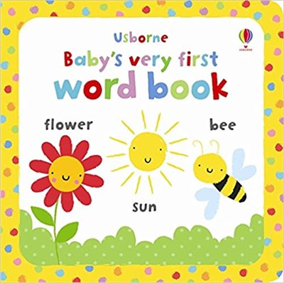 Baby's Very First Word Book (board book) - фото 4624