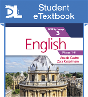 English for the IB MYP 3 Student eTextbook (1 Year Subscription)