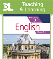 English for the IB MYP 3 Teaching & Learning Resource