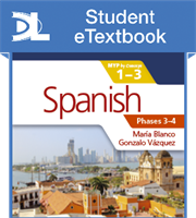 Spanish for the IB MYP 1-3 Phases 3-4 Student eTextbook (1 Year Subscription)
