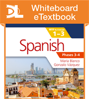 Spanish for the IB MYP 1-3 Phases 3-4 Whiteboard eTextbook
