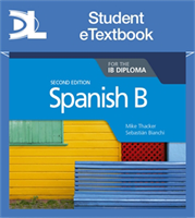 Spanish for the IB Diploma Second edition Student eTextbook (1 Year Subscription)