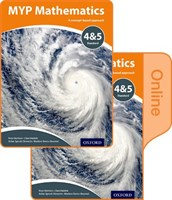 Myp Mathematics 4 & 5 Standard: Print And Online Course Book Pack