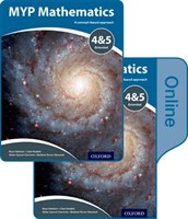 Myp Mathematics 4 & 5 Extended: Print And Online Course Book Pack