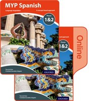 Myp Spanish: Language Acquisition Phases 1-2: Print And Online Course Book Pack