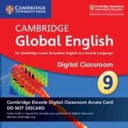 Cambridge Global English Stage 9 Cambridge Elevate Digital Classroom Access Card (1 Year)