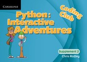Python: Interactive Adventures Supplement 2 (Level 2)