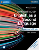 Cambridge IGCSE™ English as a Second Language Fifth edition Teacher's Book with Audio CDs and DVD