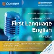 Cambridge IGCSE™ First Language English Cambridge Elevate Digital  Classroom Access Card  (1  year)