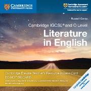Cambridge IGCSE™ and O Level Cambridge Elevate Teacher's resource Access card