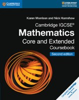 Cambridge IGCSE™ Mathematics Coursebook Core and Extended