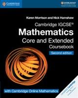 Cambridge IGCSE™ Mathematics Coursebook Core and Extended with Cambridge Online Mathematics (2 years)