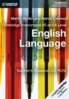 Cambridge International AS & A Level English Language Teacher's Resource CD-ROM First Edition