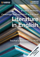 Cambridge International AS & A Level Literature in English Teacher's Resource CD-ROM First Edition