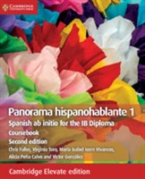 Panorama hispanohablante 1 Coursebook Cambridge Elevate edition