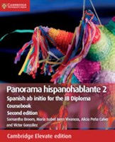 Panorama hispanohablante 2 Coursebook Cambridge Elevate edition
