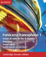 Panorama francophone 1 Coursebook Cambridge Elevate Edition (2 Years)