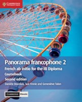 Panorama francophone 2 Coursebook Cambridge Elevate editon