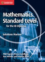 Mathematics for the IB Diploma: Mathematics Standard Level Solutions Manual