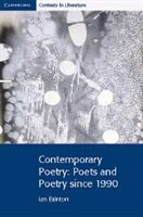 Contemporary Poetry: Poets and Poetry since 1990