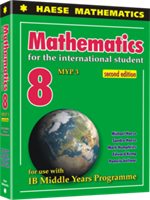 Mathematics for the International Student 8 (MYP 3) 2nd edition - Textbook
