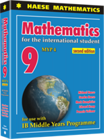 Mathematics for the International Student 9 (MYP 4) 2nd edition - Textbook