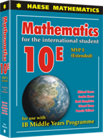 Mathematics for the International Student 10 Extended (MYP 5E) - Textbook