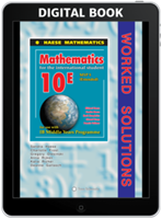 Mathematics for the International Student 10 Extended (MYP 5E) - Worked Solutions - Digital only subscription