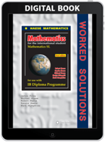 Mathematics SL third edition - Worked Solutions - Digital only subscription