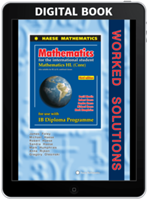 Mathematics HL (Core) third edition - Worked Solutions - Digital only subscription