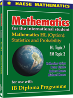 Mathematics HL (Option) - Statistics and Probability - Digital only subscription