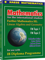 Further Mathematics HL - Linear Algebra and Geometry - Textbook