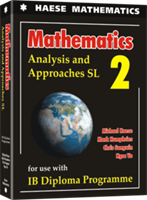 Mathematics: Analysis and Approaches SL - Textbook