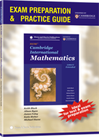 Cambridge International Mathematics (0607) Extended (1st edition) - Exam Preparation & Practice Guide (Book Only)