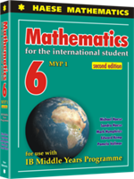 Mathematics for the International Student 6 (MYP 1) 2nd edition - Textbook