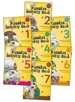 Jolly Phonics Activity Books - Set of books 1-7