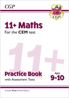 11+ CEM Maths Practice Book & Assessment Tests - Ages 9-10 (with Online Edition)