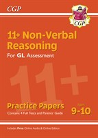 11+ GL Non-Verbal Reasoning Practice Papers - Ages 9-10 (with Parents' Guide & Online Edition)