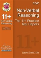 11+ Non-Verbal Reasoning Practice Papers: Standard Answers (for GL & Other Test Providers)
