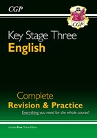 KS3 English Complete Study & Practice (with Online Edition)