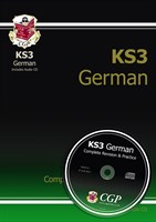 KS3 German Complete Revision & Practice with Audio CD